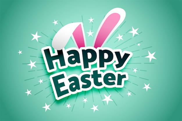 Happy easter celebration joyful card background