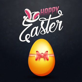 Happy easter concept