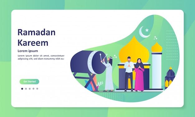 Happy eid mubarak banner