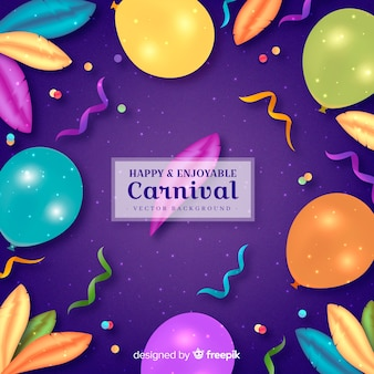 Happy and enjoyable carnival