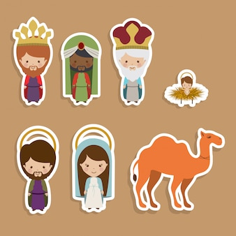 Happy epiphany   stickers