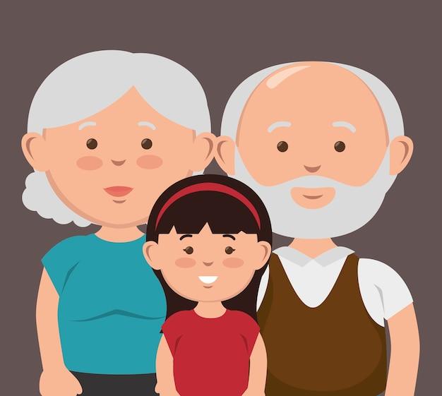 Happy family design