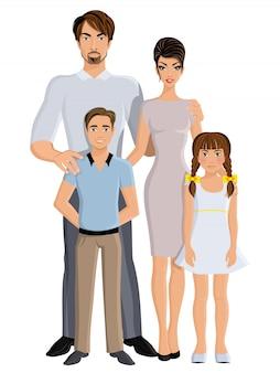 幸せな家族の完全な長さ