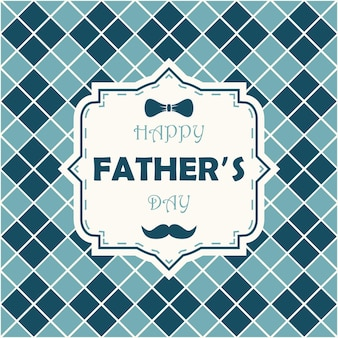 Happy father day greeting card for dad template for poster banner postcard
