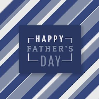 Счастливые отцы день фон с полосами