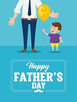 Счастливый день отца карты.