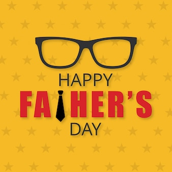 Happy father's day creative design banner