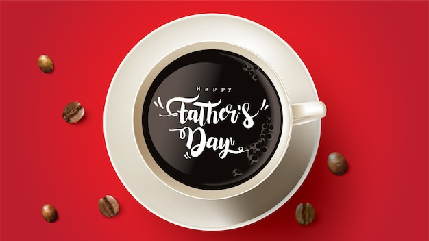 Happy father's day design with fun concept