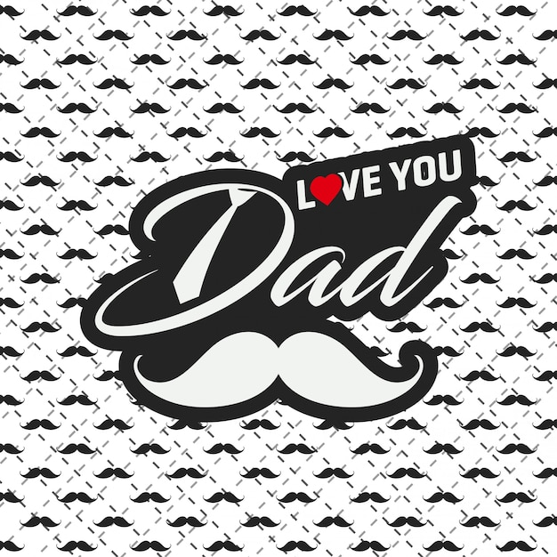 Free Are you searching for fathers day png images or vector? Free Happy Father S Day Greeting Card With Pattern Background Svg Dxf Eps Png Cut Vectors Photos And Psd Files Free Download SVG, PNG, EPS, DXF File