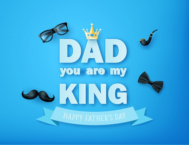 幸せな父の日の挨拶