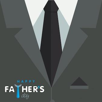Design grafico del giorno dei padri felici
