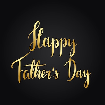Happy father s day typography style vector