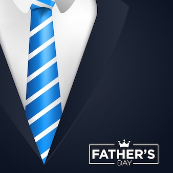 Happy father's day vector background