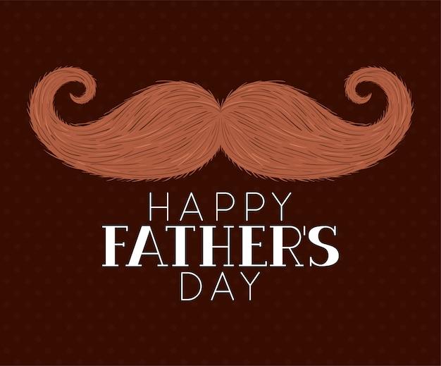 Счастливого дня отцов и усов