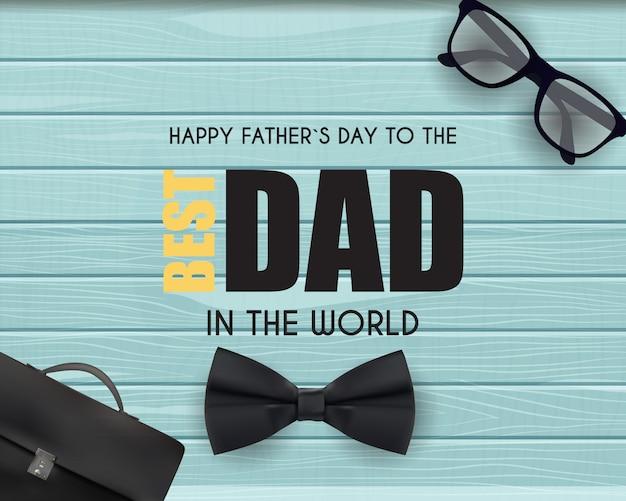Счастливый день отцов фона. лучший папа иллюстрация