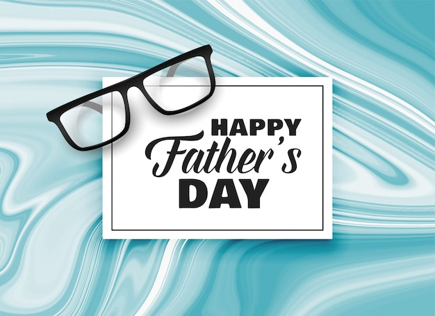 Happy fathers day card design background