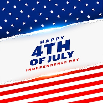 Happy fourth of july american independence day background