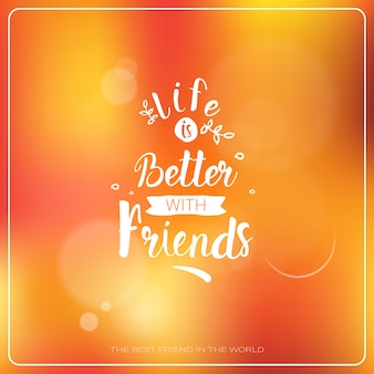 Happy friendship day logo greeting card friends holiday banner