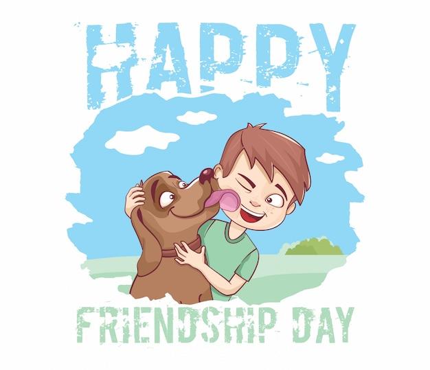 행복한 우정의 날.