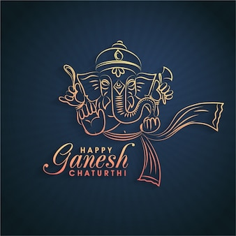 Happy ganesh chaturthi background