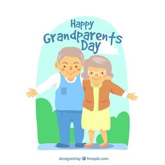 조부모의 날 디자인