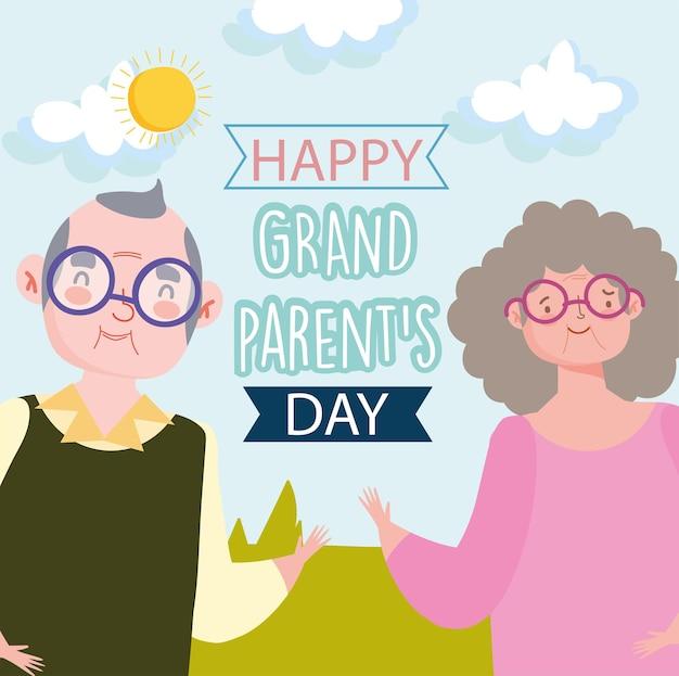 해피 조부모의 날 축제