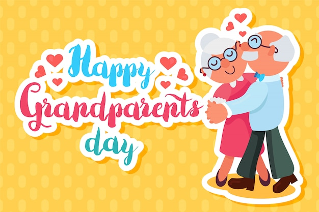 Happy grandparents day greeting