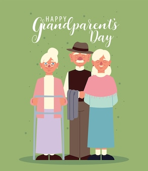 행복한 조부모 축제