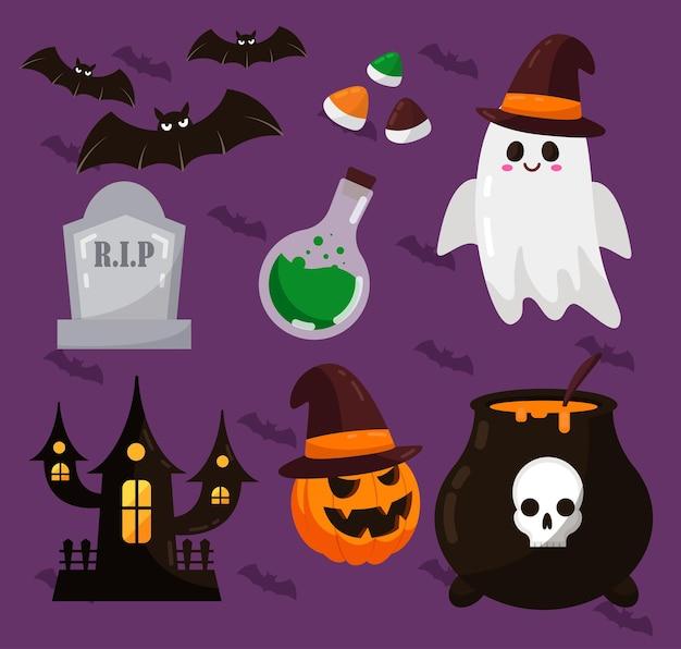 Подарок на хэллоуин для романа, рассказа и иллюстраций