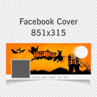 Happy halloween calligraphy cover