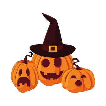 Happy halloween celebration ilustration