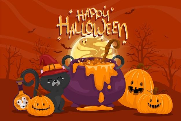 Счастливого празднования хэллоуина