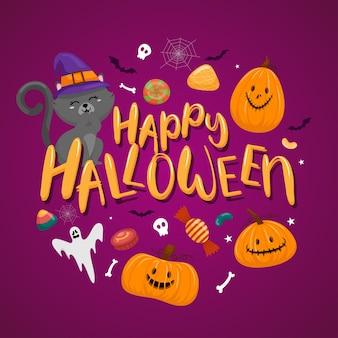 Felice festa di halloween