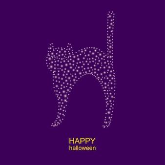 해피 할로윈 인사말 카드 템플릿 할로윈 파티 포스터 무서운 재미 t 셔츠 인쇄 패턴