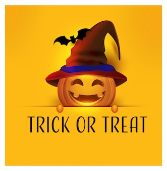 Happy halloween holiday with lettering