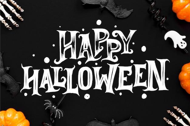 Happy halloween - lettering concept