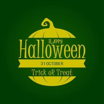 Happy halloween lettering template