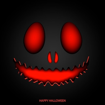 Happy halloween mask background