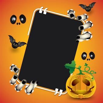 Happy halloween monster message boards.