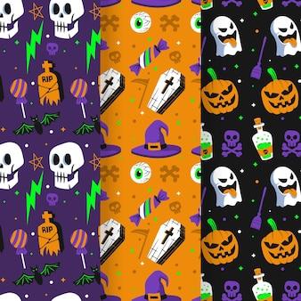 Happy halloween patterns
