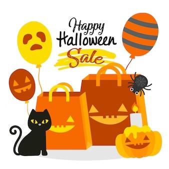Happy halloween sale.