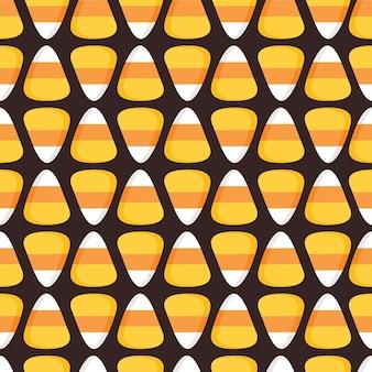 Happy halloween seamless pattern background