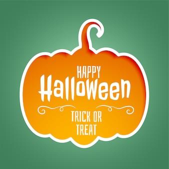 Felice halloween dolcetto o scherzetto sfondo