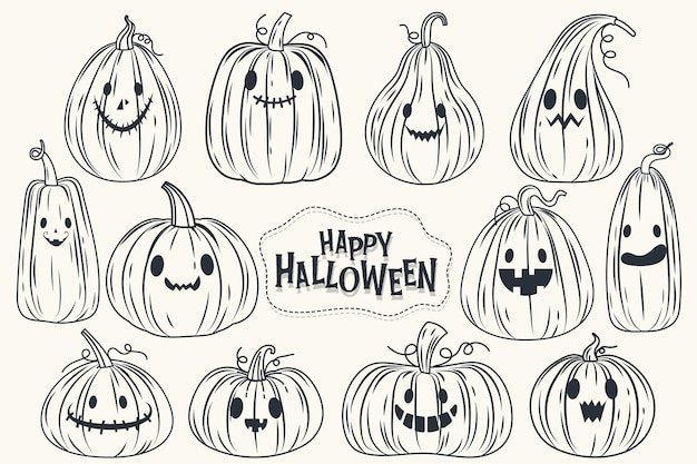 Happy halloween (trick or treat) banner for invitation.