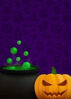 Happy halloween vector background