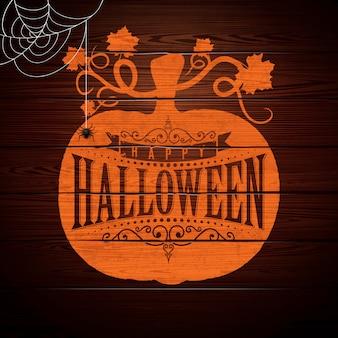 Happy halloween vector illustration