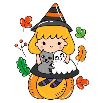 Happy halloween vector.