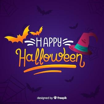 Happy halloween надписи фон