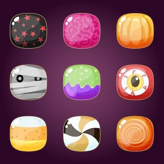 Happy halloween конфеты набор кошелек или жизнь.