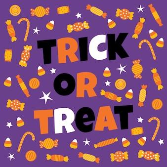 Happy halloween сладкие конфеты